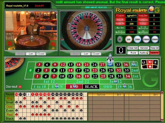 gclub roulette online