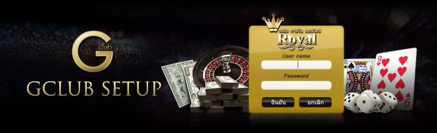 gclub casino setup